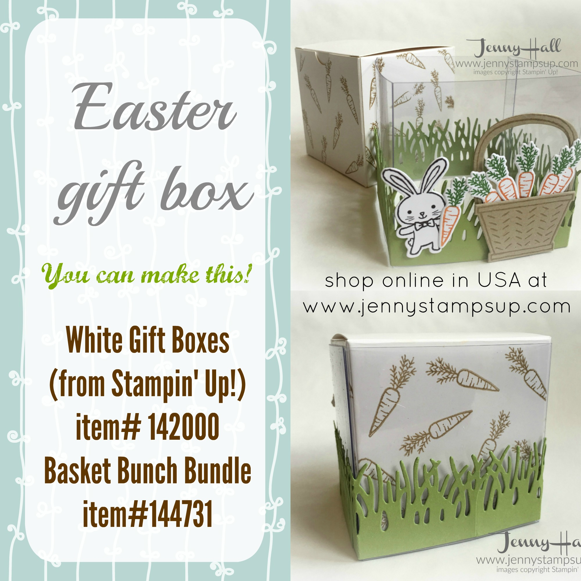 Decorated easter gift box jenny hall designs easter gift box by jenny hall jennystampsup negle Gallery