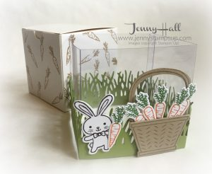 Easter gift box by Jenny Hall www.jennystampsup.com