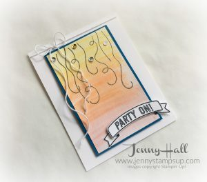 Balloon Adventures card by Jenny Hall at www.jennystampsup.com