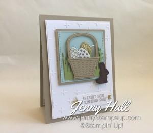 Basket Bunch stamps & Basket Builder dies by Jenny Hall www.jennystampsup.com