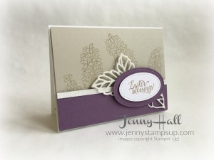 Suite Sayings stamped Easter Card by Jenny Hall www.jennystampsup.com