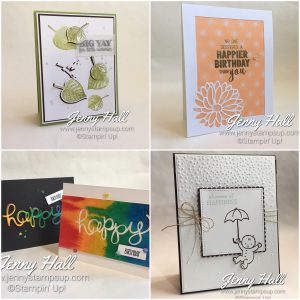 Creative Die Cuts online class at www.jennystampsup.com