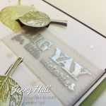 Creative Die Cuts Class by Jenny Hall at www.jennystampsup.com