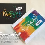 Creative Die Cuts Online Class with Jenny Hall at www.jennystampsup.com