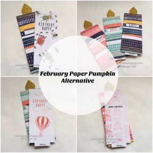 February 2017 Paper Pumpkin alternative by Jenny Hall www.jennystampsup.com