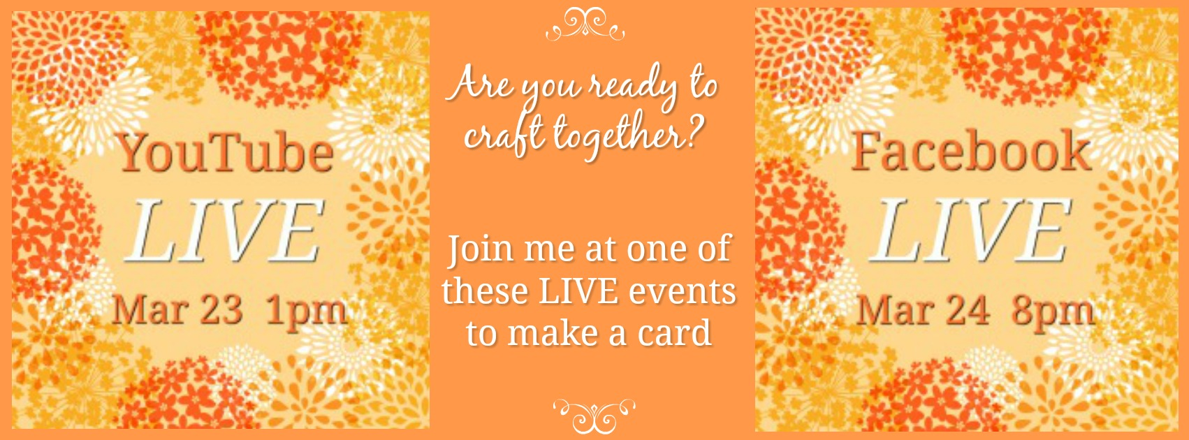 check out a LIVE event with Jenny Hall www.jennystampsup.com