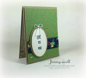 Cameo style card by Jenny Hall www.jennystampsup.com