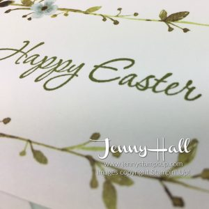 Project Life easter card by Jenny Hall www.jennystampsup.com