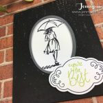 special effects with embossing powder by Jenny Hall www.jennystampsup.com