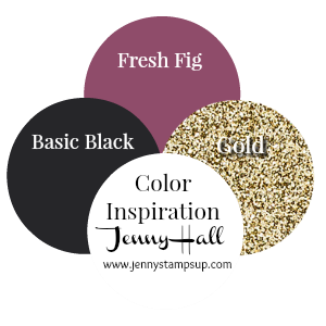 Color Inspiration 1 by Jenny Hall at www.jennystampsup.com