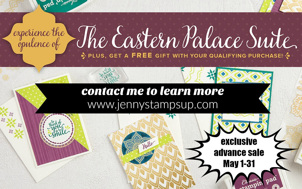Eastern Palace release by Jenny Hall www.jennystampsup.com