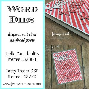 Hello You word dies by Jenny Hall at www.jennystampsup.com