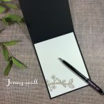Black and vanilla combo card by Jenny Hall www.jennystampsup.com