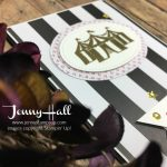 Bold stripes card by Jenny Hall www.jennystampsup.com