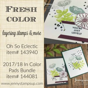 Oh So Eclectic by Jenny Hall www.jennystampsup.com