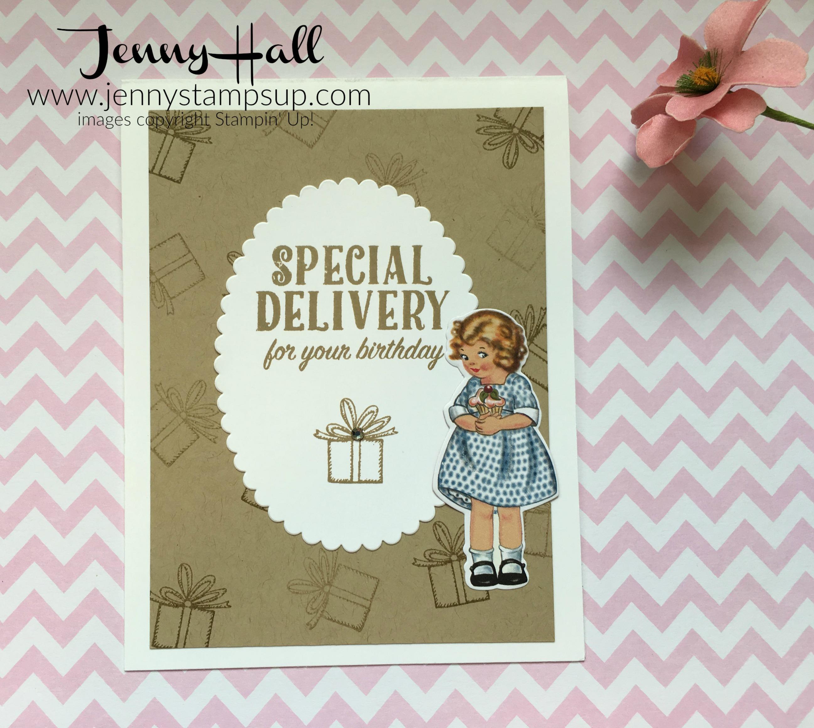 Birthday Delivery by Jenny Hall www.jennystampsup.com