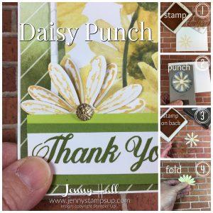 Daisy Punch Jenny Hall www.jennystampsup.com