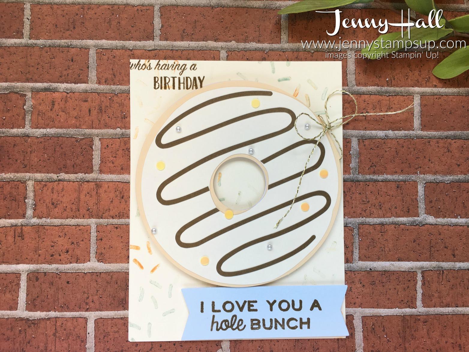 donut card www.jennystampsup.com