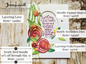 die cutting watercolor panels www.jennystampsup.com