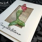Watercoloring Magical Mermaid cardmaking papercrafts scrapbooking and more at Jenny Hall Design at www.jennystampsup.com