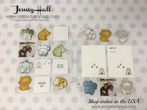 scrapbooking for kids with A Little Wild on pocket pages with Jenny Hall at www.jennystampsup.com for cardmaking papercrafts handmade crafts and video tutorials