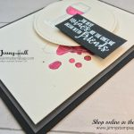 Half Full stamp set by Stampin Up with Jenny Hall from www.jennystampsup.com for cardmaking, stamping, handmade cards, free video tutorials, scrapbooking and more!
