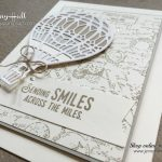 Travel theme card by Jenny Hall of www.jennystampsup.com