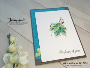 Sympathy Card for Kylie's Highlights by Jenny Hall at www.jennystampsup.com for cardmaking, video tutorials, papercraft gift giving, scrapbooking and more!