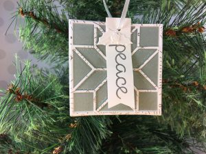 2017 Christmas Ornament Tutorial Series project using Stampin' Up! products with Jenny Hall at www.jennystampsup.com for cardmaking, papercraft gift giving, scrapbooking, video tutorials and more!