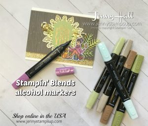 Stampin' Blends Markers FREE online course with the purchase of a full set of markers from Jenny Hall at www.jennystampsup.com for video tutorials, cardmaking projects, scrapbooking and more!