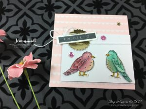 Stampin Blends by Jenny Hall at www.jennystampsup.com
