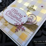 Girl's Night Out Theme card using Stampin' Up! products by Jenny Hall at www.jennystampsup.com for cardmaking, scrapbooking, papercraft gift giving, scrapbooking and more!