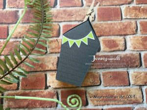 Sweet Home chocolate holder by Jenny Hall at www.jennystampsup.com
