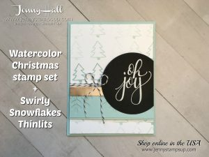 Chalkboard technique card by Jenny Hall at www.jennystampsup.com for cardmaking techniques, tutorials, scrapbooking and more!