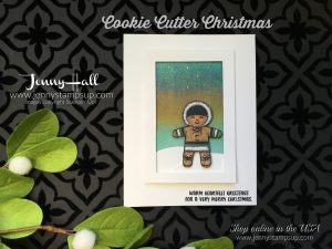 Cookie Cutter Christmas Kid card by Jenny Hall at www.jennystampsup.com for cardmaking, stamping, scrapbooking, papercraft gift giving and more!