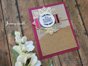 Labels To Love card by Jenny Hall at www.jennystampsup.com for cardmaking, scrapbooking, papercraft gifts, video tutorials and more!