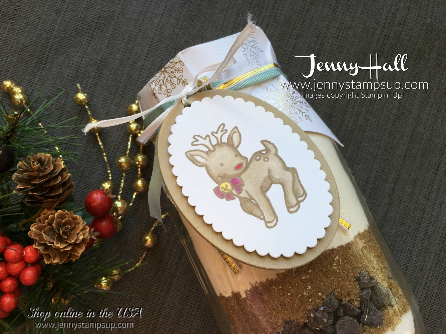 Teacher Christmas Gifts by Jenny Hall at www.jennystampsup.com for cardmaking, scrapbooking, papercraft gift giving, video tutorials and more!