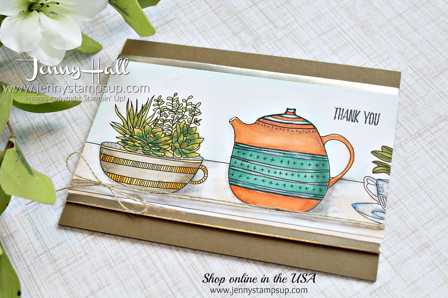 Just Add Color DSP card by Jenny Hall using #stampinup products at www.jennystampsup.com for #cardmaking #scrapbooking #videotutorial #cardmakingtechniques #adultcoloring #jennystampsup #jennyhalldesign #jennyhallstampinup