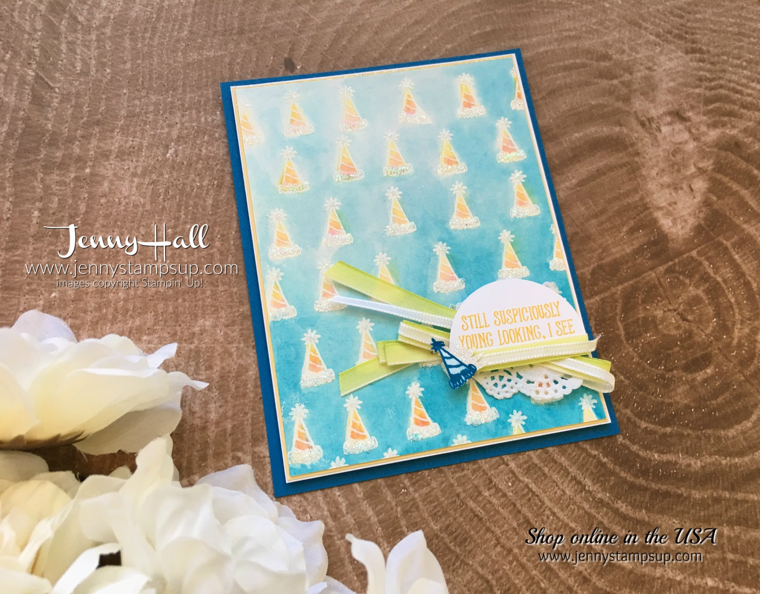 Anything but a Christmas Card by Jenny Hall at www.jennystampsup.com for cardmaking, scrapbooking, video tutorials and more!
