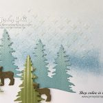 Winter scene scrapbook page by Jenny Hall at www.jennystampsup.com for scrapbooking, cardmaking, video tutorials and more!