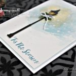 Watercolor Winter card by Jenny Hall at www.jennystampsup.com for #cardmaking #stampinup #cleanandsimple #cascards #jennystampsup #jennyhalldesign #jennyhallstampinup #watercolor #watercolorsmooshing #cardmakingtechniques #scrapbooking and more!