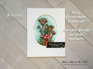 Fairy Celebration card by Jenny Hall at www.jennystampsup.com for cardmaking, video tutorials, scrapbooking and more!