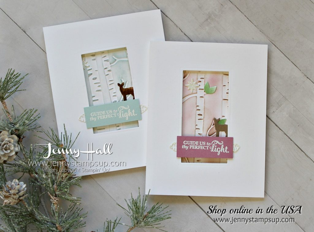 Designs the way you like in Clean and Simple Christmas card by Jenny Hall using #stampinup products with #videotutorial Find me at www.jennystampsup.com for #cardmaking #scrapbooking #processvideo #papercrafts and #handmade #artsandcrafts