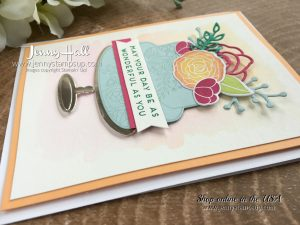 Cake Soiree card by Jenny Hall CASE'd from the 2018 Occasions Catalog Cover www.jennystampsup.com for #cardmaking #stampinup #cakesoireebundle #videotutorials #scrapbooking #jennystampsup #jennyhallstampinup #jennyhalldesign #stamping #bloghop #cardmakingtechniques and more!