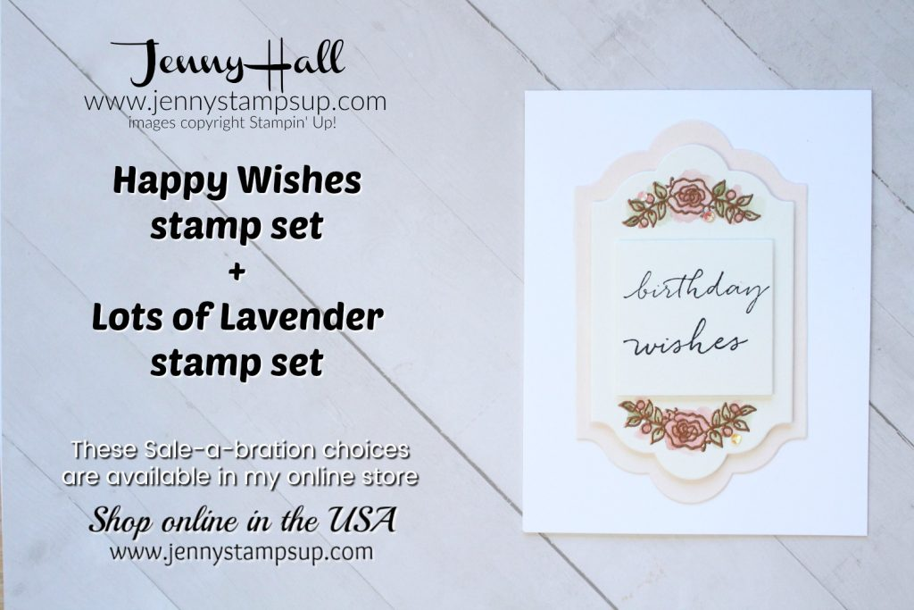 Messy Watercolor card created by Jenny Hall at www.jennystampsup.com for #cardmaking #happywishes #lotsoflavender #stamping #videotutorial #youtuber #craftyyoutuber #watercoloring #messywatercolor #jennyhalldesign #jennyhall #jennyhallstampinup #jennystampsup #messywatercolor #cardmakingtechnique #crafts #papercraft #greetingcard #creativelife #lifestyle