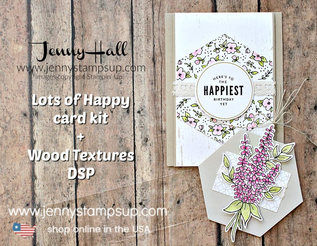 Lots and lots of Happy card and tag project created by Jenny Hall at www.jennystampsup.com for #cardmaking #papercraft #crafts #lifestyleblog #craftkit #stampinup #stamping #jennyhalldesign #jennystampsup #jennystampsup #gifttag #diygift #lotsofhappykit #cascards #cleanandsimplecards #handmade #shabbychic