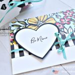 February OSAT Blog Hop card and 3D project by Jenny Hall at www.jennystampsup.com for #cardmaking #paperpumpkin #osatbloghop #cardmaking #videotutorial #cardmakingvideo #petalpalette #petal passiondsp #blackandwhitestripe #jennystampsup #jennyhalldesign #jennyhallstampinup #halljenny #valentinesday #stamping #rubberstamp #papercraft