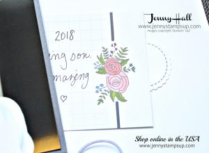 March Scrapbook Sunday Blog Hop using A Good Day stamp set created by Jenny Hall at www.jennystampsup.com for #scrapbooking #agooddaystampset #embroideryhoop #birdstamp #childhood #portrait #videotutorial #processvideo #scrapbooking #stampinup #stamping #jennyhall #jennyhalldesign #jennyhallstampinup #jennystampsup #saleabration2018 #sweetsoiree #cleanandsimple #elegantlayout #hiddensentiment #fussycut #youtuber