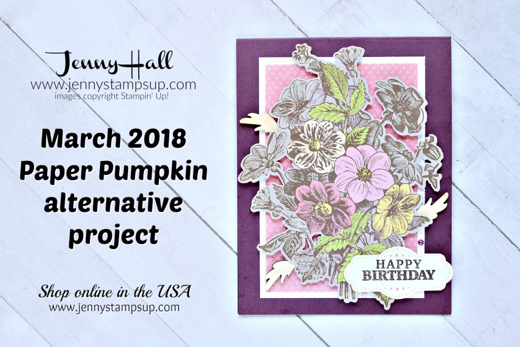 A Paper Pumpkin Thing Blog Hop card made with May Good Things Grow kit created by Jenny Hall at www.jennystampsup.com for #cardmaking #paperpumpkin #paperpumpkinalternative #minialbum #bloghop #stamping #stampinup #videotutorial #onlineclass #jennyhall #jennyhalldesign #jennystampsup #craftyyoutuber #crafts #papercrafts