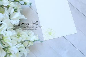April Ink & Inspiration Blog Hop card created by Jenny Hall at www.jennystampsup.com for #cardmaking #climbingorchid #orchidstamp #stampinup #jennyhall #jennyhalldesign #jennystampsup #videotutorial #youtuber #stamping #orchidcard #cascards #cleanandsimplecards